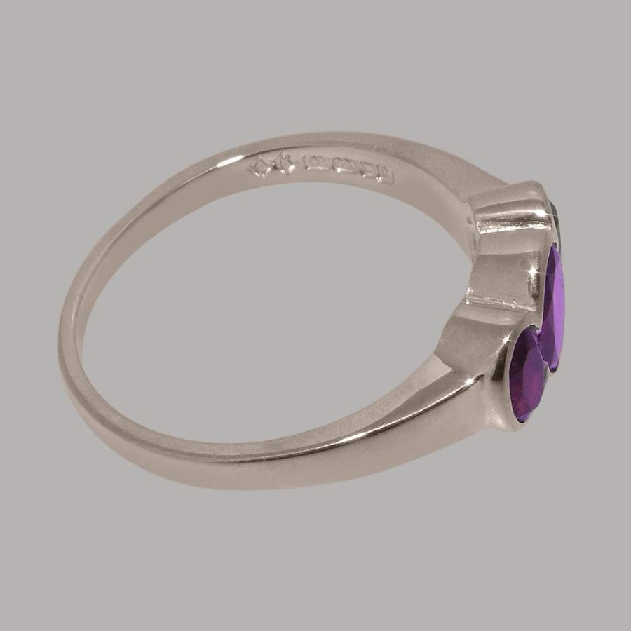 買取り実績  英国製(イギリス製) 指輪 K10 ホワイトゴールド リング 天然 アメジスト アメジスト レディース リング 指輪 各種 サイズ あり, 【お気にいる】:695930c4 --- photoboon-com.access.secure-ssl-servers.biz