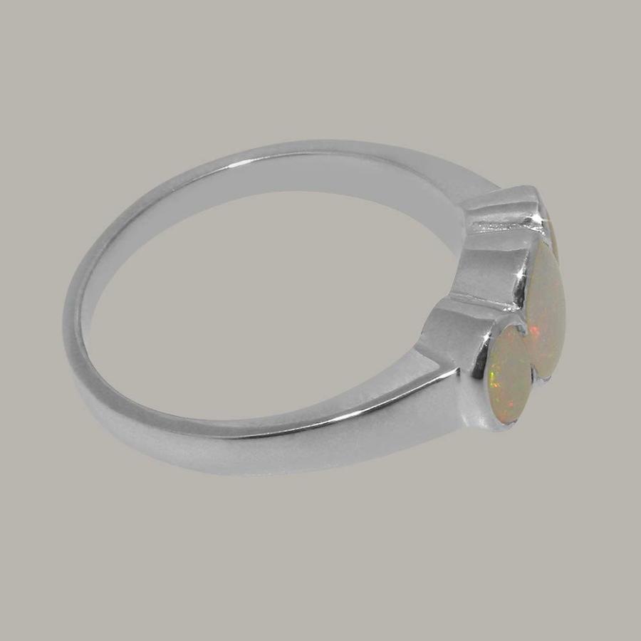【良好品】 英国製(イギリス製) K9 K9 サイズ ホワイトゴールド 天然 オパール レディース リング リング 指輪 各種 サイズ あり, P&LUXE:8e6cbbae --- airmodconsu.dominiotemporario.com