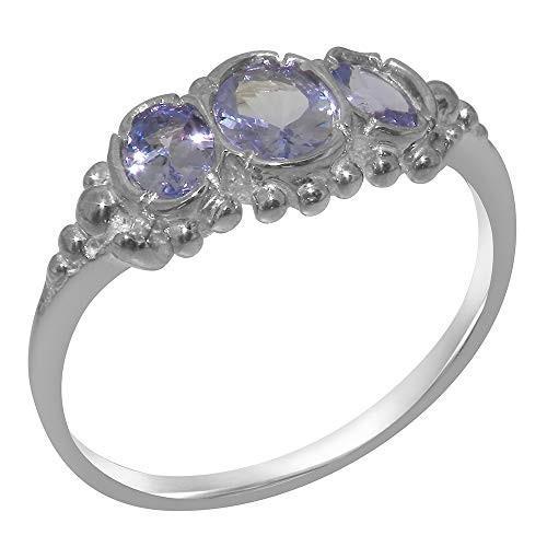 超爆安 英国製(イギリス製) K14 ホワイトゴールド 各種 天然 指輪 タンザナイト レディース リング 指輪 各種 K14 サイズ あり, 美唄市:d6fa24de --- airmodconsu.dominiotemporario.com