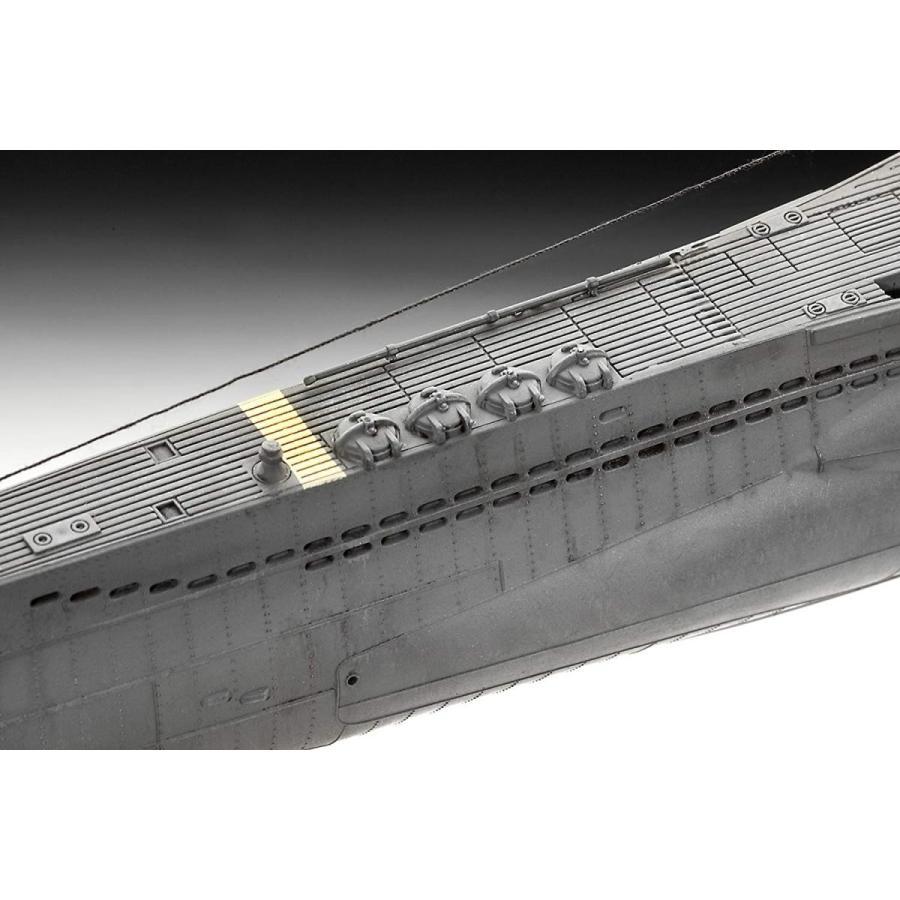 ドイツレベル 1/144 Uボート TypeVIIC/41 05100 プラモデル