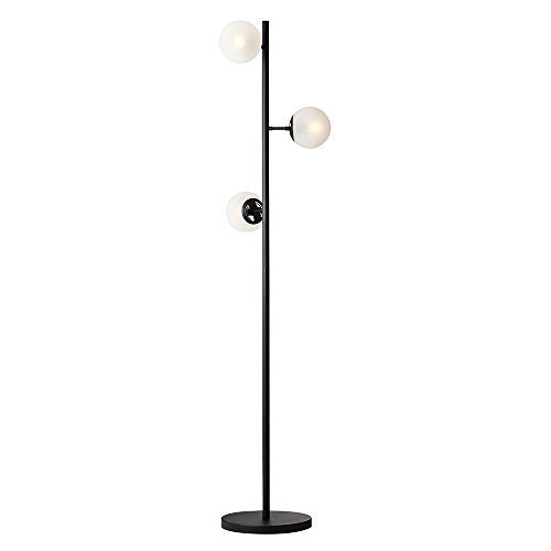 フロアライト ルルブランフロアランプ 小形LED電球(電球色)3つ付 すりガラス LT-2330FR LT-2330FR