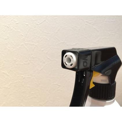 詰め替え容器 (bottle.S-BL 泡スプレー 500ml 黒×白) ディスペンサーボトル 詰め替えボトル おしゃれ モノトーン 洗剤 500mlスプレー|cress|03