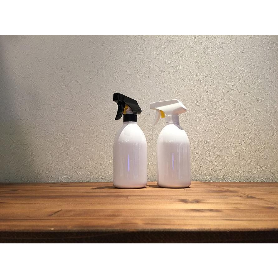 詰め替え容器 (bottle.S-BL 泡スプレー 500ml 黒×白) ディスペンサーボトル 詰め替えボトル おしゃれ モノトーン 洗剤 500mlスプレー|cress|10