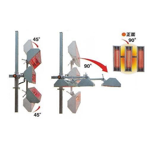 cubic キュービック アルティメットヒーター 3灯バーチカル式 近赤 短波 ルビーランプ Sa V3 Sa V3 ケミカル用品と工具のcrk販売 通販 Yahoo ショッピング