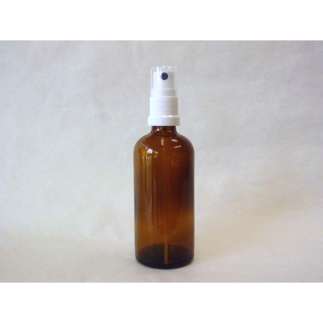 スプレー付き遮光瓶(茶色)100ml crococko