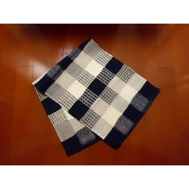キッチンマットKAMER(カームル)ブルー 45×120cm|crococko|02