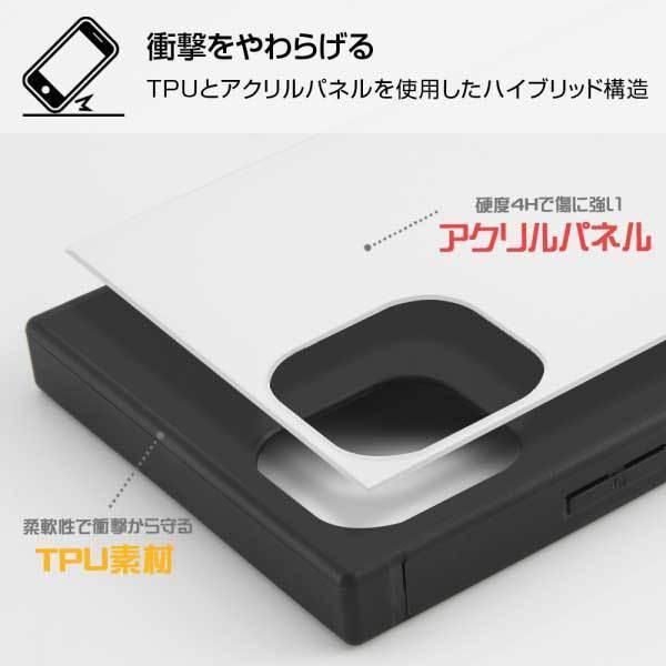 iPhone 11 ProMax 耐衝撃ケース ワンピース 海賊旗マーク ハイブリッドカバー KAKU スクエア 四角 キャラ おしゃれ カッコイイ イングレム IQ-OP22K3TB-OP004|cross-road|02