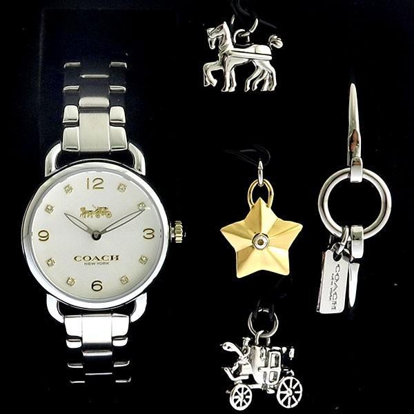 【激安セール】 コーチ COACH バングルセット クオーツ レディース 腕時計 14000055 ホワイト, ゼネラルステッカー 92069f6d
