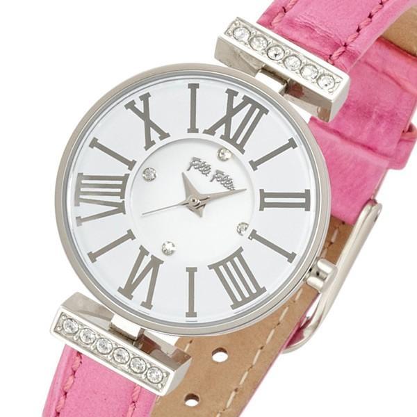 【第1位獲得!】 フォリフォリ FOLLI FOLLIE ダイナスティ レディース 腕時計 WF13A014SSW-PI2 ホワイト ポイント消化, スポーツハウス b23f898f