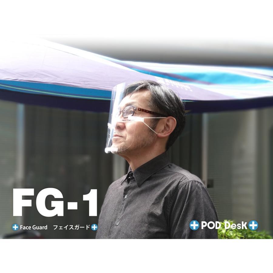 「フェイスガード FG-1」(シールドフィルム3枚入) crosspod 06