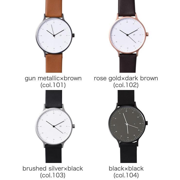 インストゥルメント INSTRMNT レザーストラップ リストウォッチ アナログ腕時計 レディース メンズ   腕時計 2980 送料無料|crouka|15