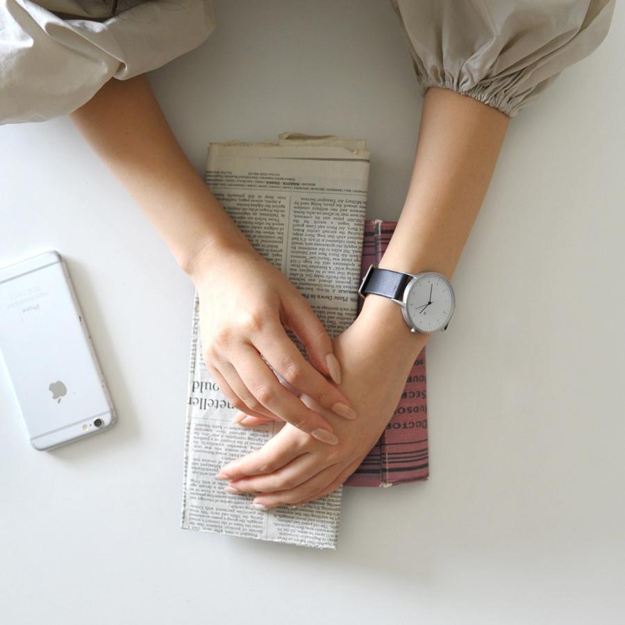 インストゥルメント INSTRMNT レザーストラップ リストウォッチ アナログ腕時計 レディース メンズ   腕時計 2980 送料無料|crouka|04