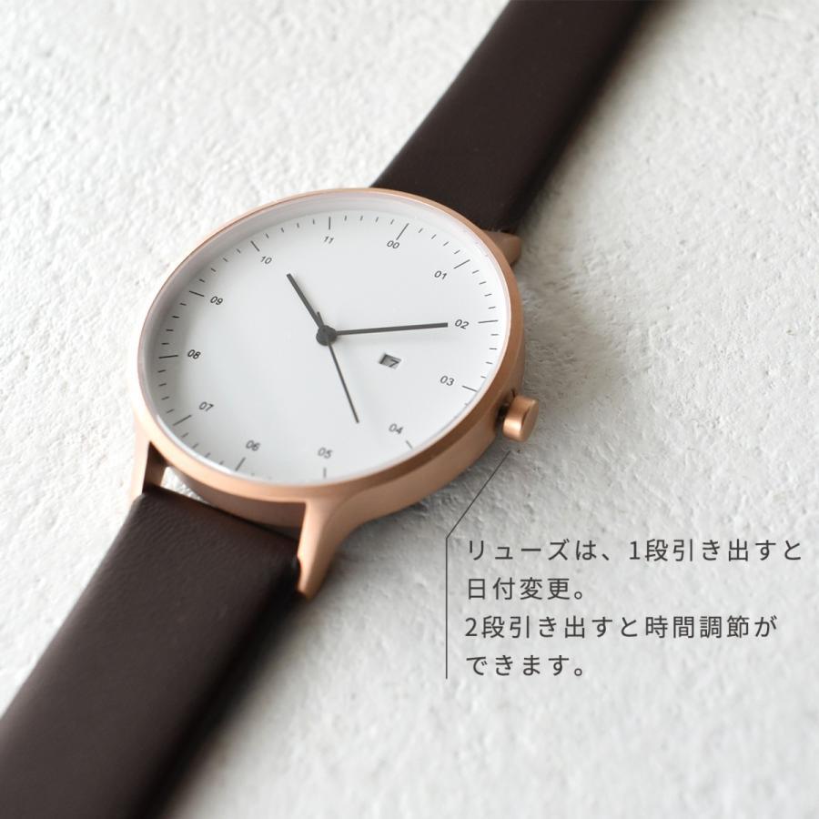 インストゥルメント INSTRMNT レザーストラップ リストウォッチ アナログ腕時計 レディース メンズ   腕時計 2980 送料無料|crouka|07