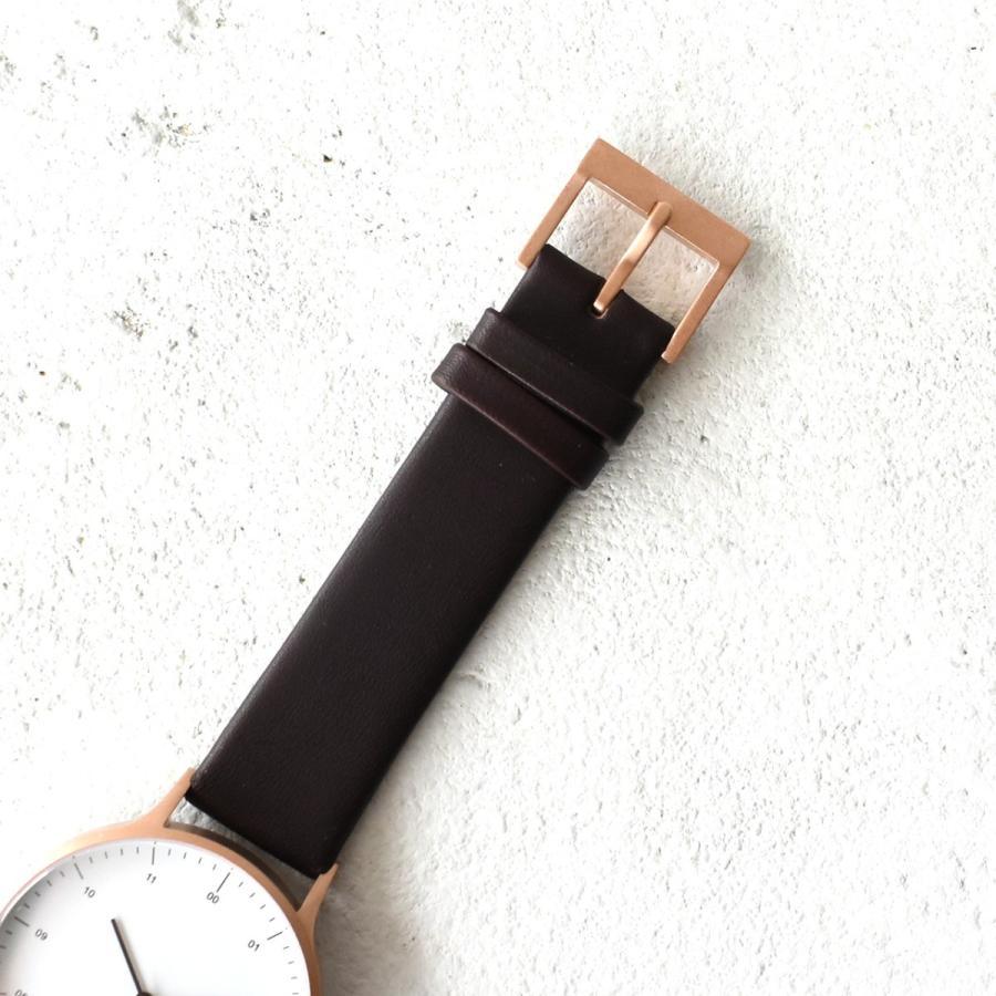 インストゥルメント INSTRMNT レザーストラップ リストウォッチ アナログ腕時計 レディース メンズ   腕時計 2980 送料無料|crouka|08
