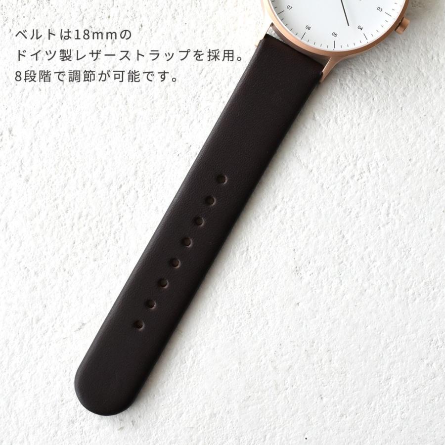 インストゥルメント INSTRMNT レザーストラップ リストウォッチ アナログ腕時計 レディース メンズ   腕時計 2980 送料無料|crouka|09