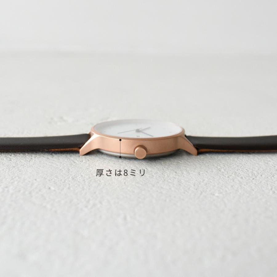 インストゥルメント INSTRMNT レザーストラップ リストウォッチ アナログ腕時計 レディース メンズ   腕時計 2980 送料無料|crouka|10
