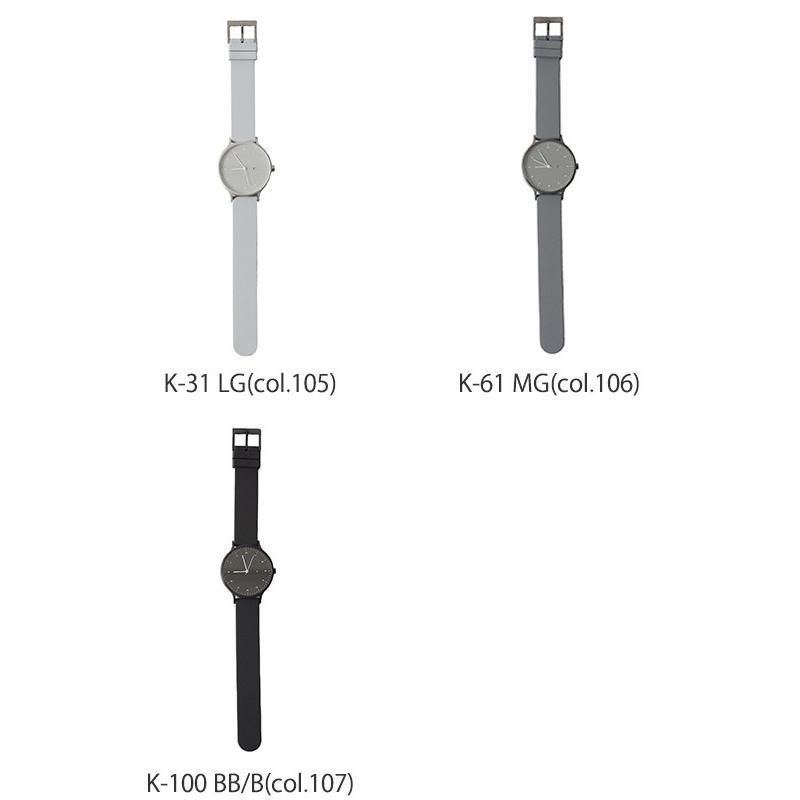インストゥルメント INSTRMNT レザー・ラバー・ストラップ リストウォッチ アナログ腕時計   3280 送料無料|crouka|12