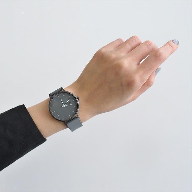 インストゥルメント INSTRMNT レザー・ラバー・ストラップ リストウォッチ アナログ腕時計   3280 送料無料|crouka|04