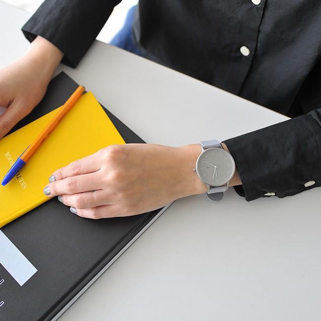 インストゥルメント INSTRMNT レザー・ラバー・ストラップ リストウォッチ アナログ腕時計   3280 送料無料|crouka|05