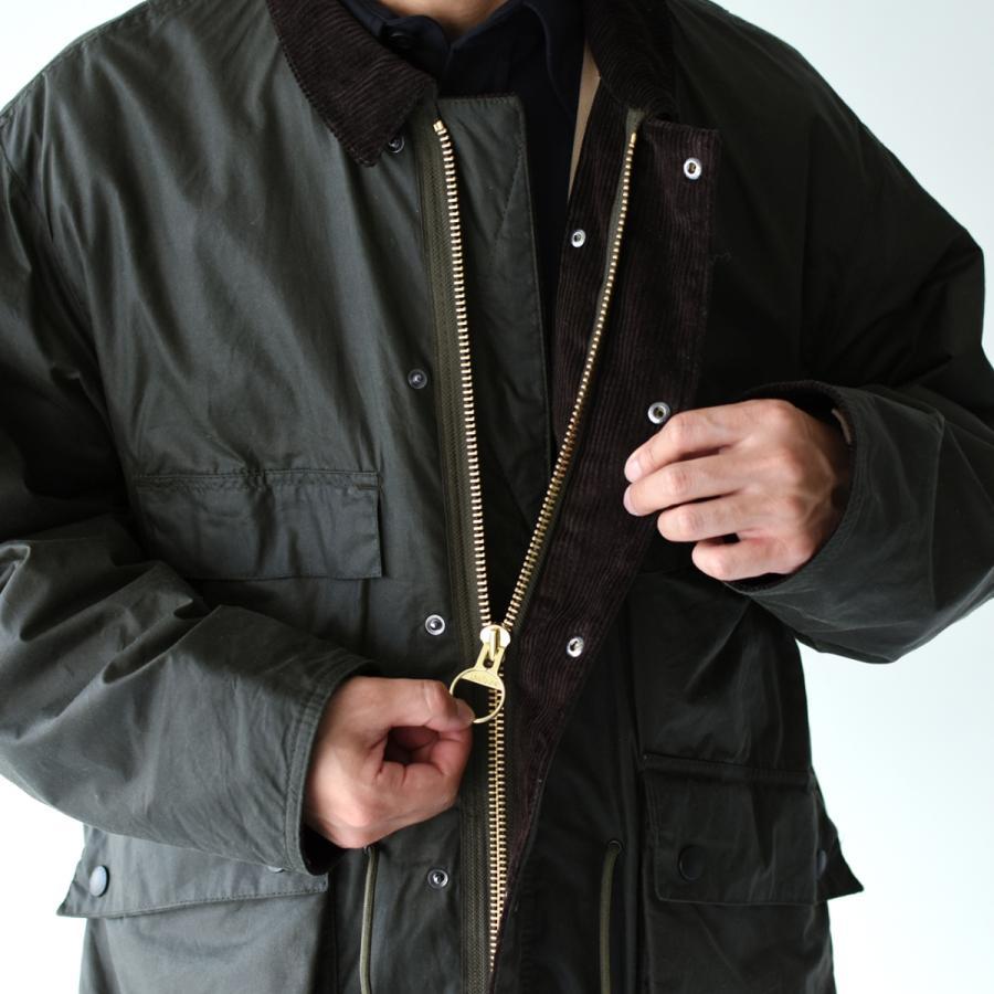 キャプテンサンシャイン×バブアー スタンドカラー トラベラー コート ミリタリー コート KS20FBB01 送料無料|crouka|12