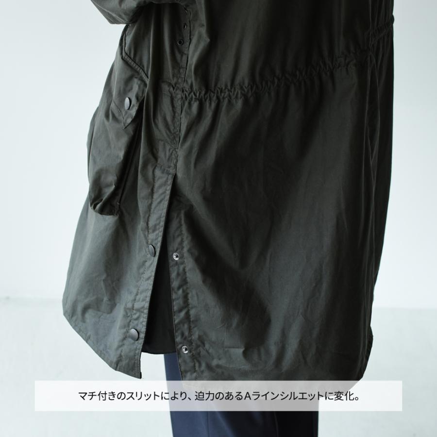 キャプテンサンシャイン×バブアー スタンドカラー トラベラー コート ミリタリー コート KS20FBB01 送料無料|crouka|16