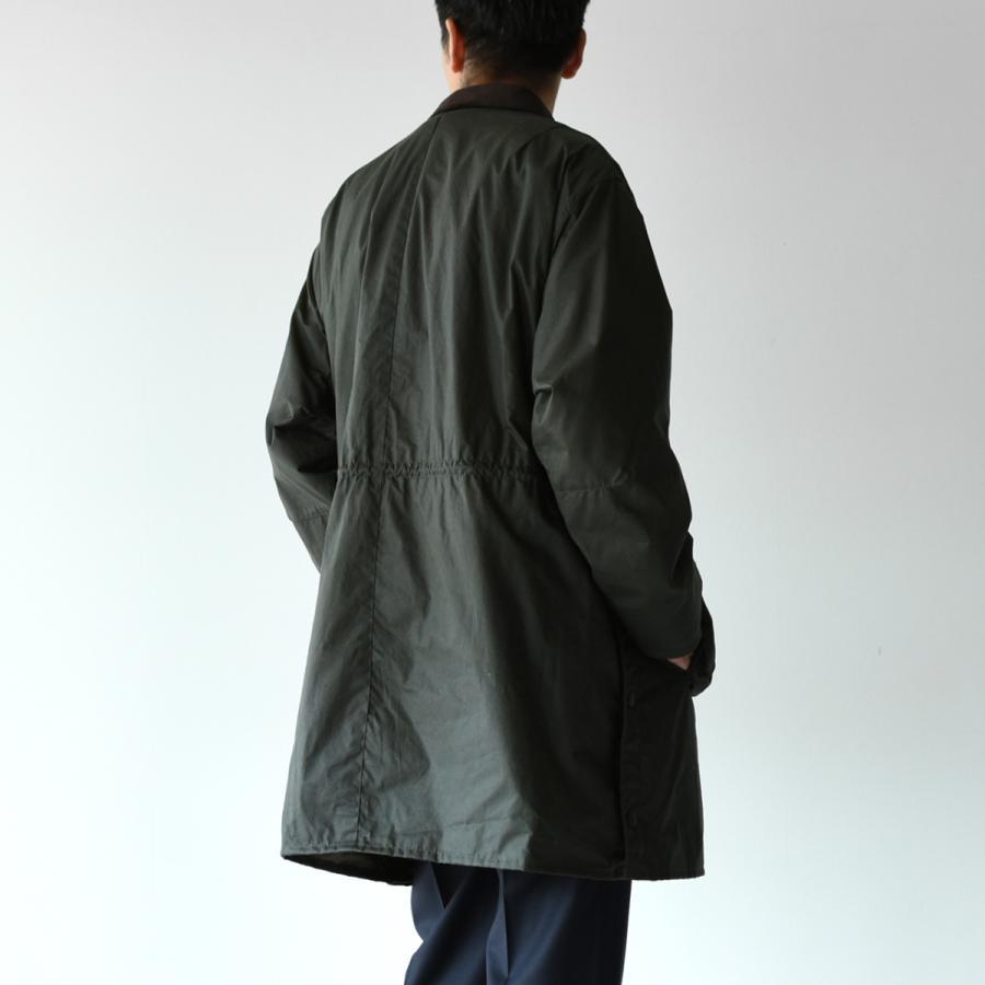 キャプテンサンシャイン×バブアー スタンドカラー トラベラー コート ミリタリー コート KS20FBB01 送料無料|crouka|19