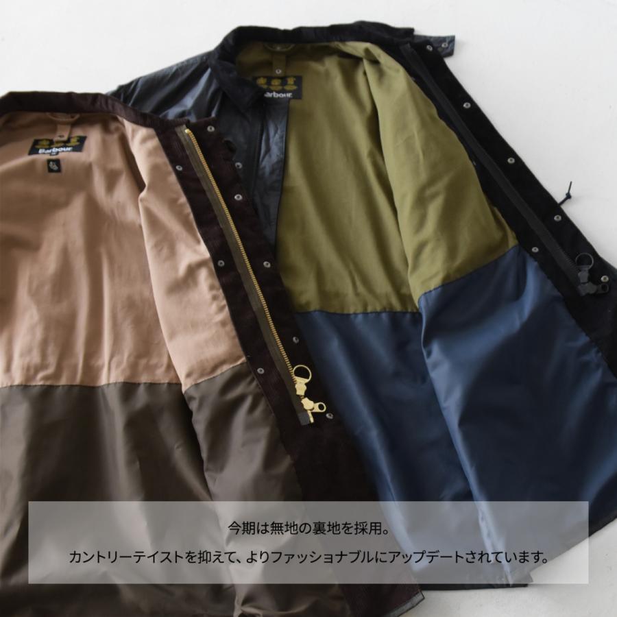キャプテンサンシャイン×バブアー スタンドカラー トラベラー コート ミリタリー コート KS20FBB01 送料無料|crouka|06