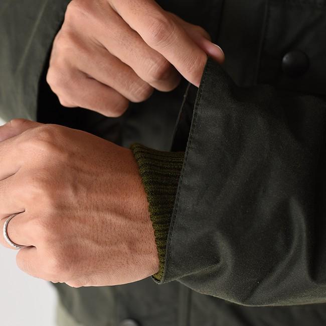 キャプテンサンシャイン×バブアー KAPTAIN SUNSHINE × Barbour フィールド ショート フーディ ジャケット KS9FBB02 送料無料|crouka|12