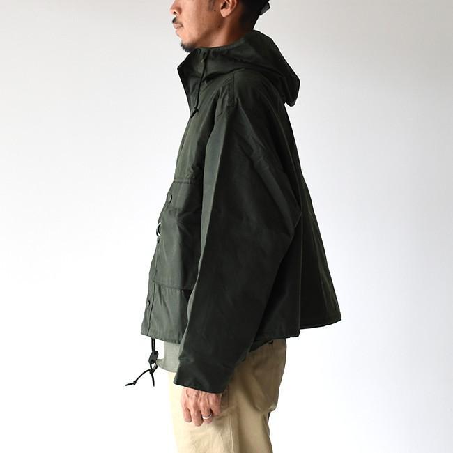 キャプテンサンシャイン×バブアー KAPTAIN SUNSHINE × Barbour フィールド ショート フーディ ジャケット KS9FBB02 送料無料|crouka|18