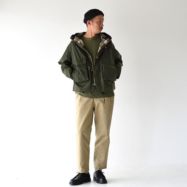 キャプテンサンシャイン×バブアー KAPTAIN SUNSHINE × Barbour フィールド ショート フーディ ジャケット KS9FBB02 送料無料|crouka|06