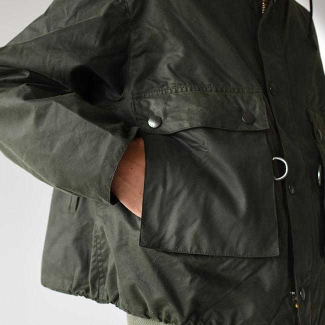 キャプテンサンシャイン×バブアー KAPTAIN SUNSHINE × Barbour フィールド ショート フーディ ジャケット KS9FBB02 送料無料|crouka|08