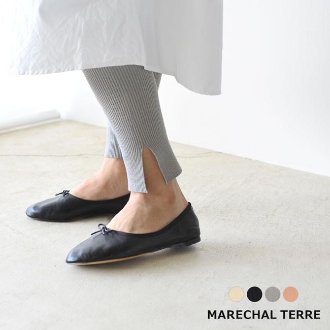 マルシャル テル MARECHAL TERRE Rib leggings リブレギンス ニット レギンス パンツ ・ZMT191KN724 送料無料|crouka