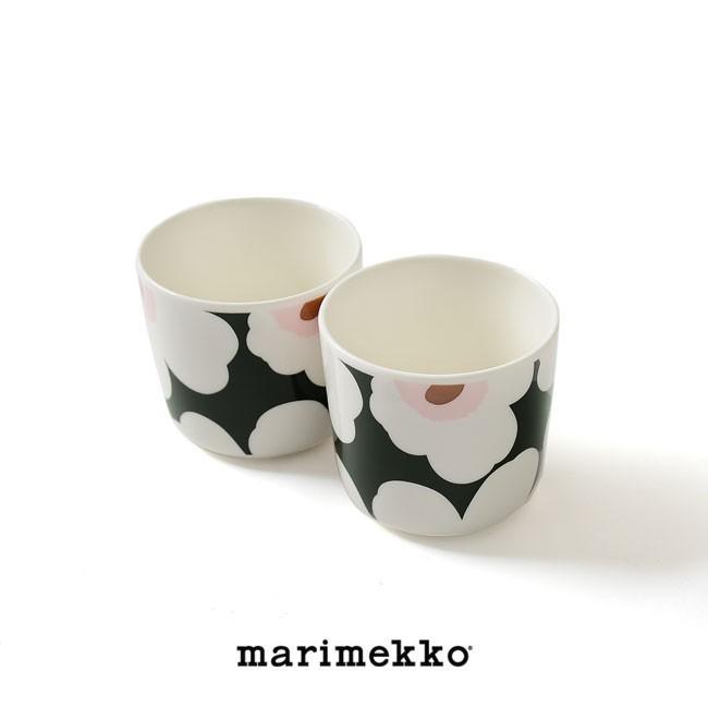 マリメッコ marimekko Unikko スヴァーレ COFFEE CUP 2PCS コーヒーカップセット ・52199-4-67849 crouka