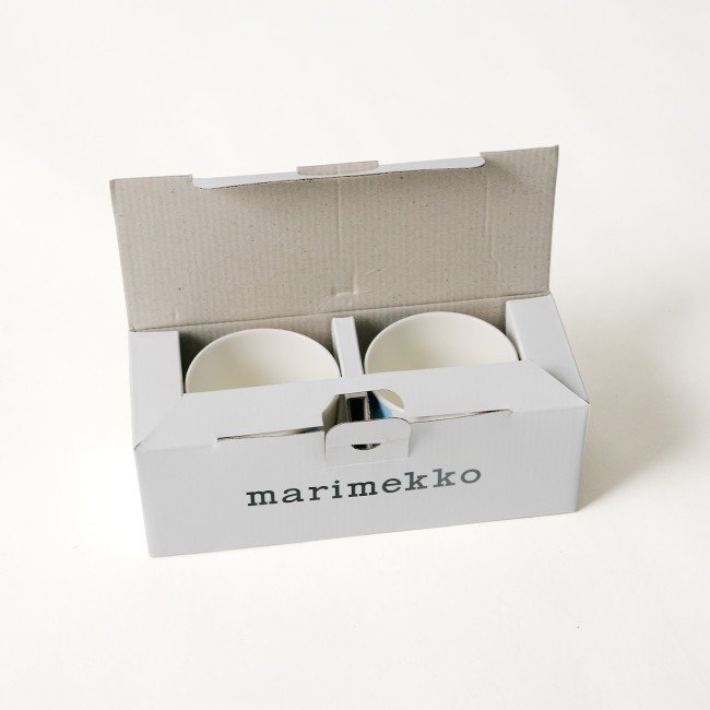 マリメッコ marimekko Unikko スヴァーレ COFFEE CUP 2PCS コーヒーカップセット ・52199-4-67849 crouka 12