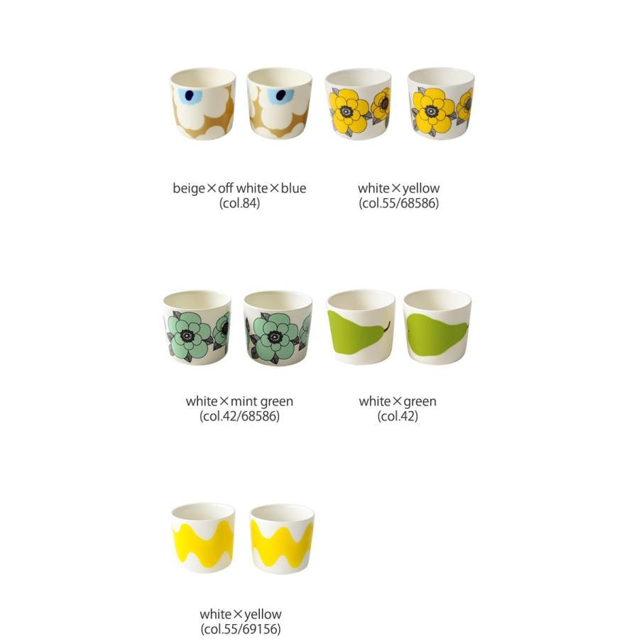 マリメッコ marimekko Unikko スヴァーレ COFFEE CUP 2PCS コーヒーカップセット ・52199-4-67849 crouka 13