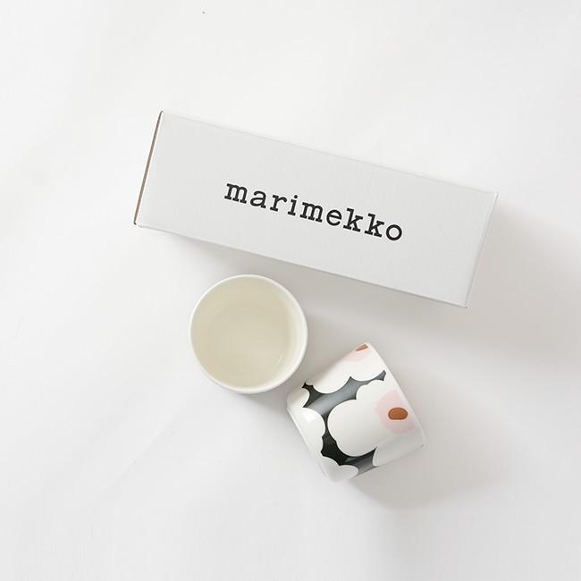 マリメッコ marimekko Unikko スヴァーレ COFFEE CUP 2PCS コーヒーカップセット ・52199-4-67849 crouka 05