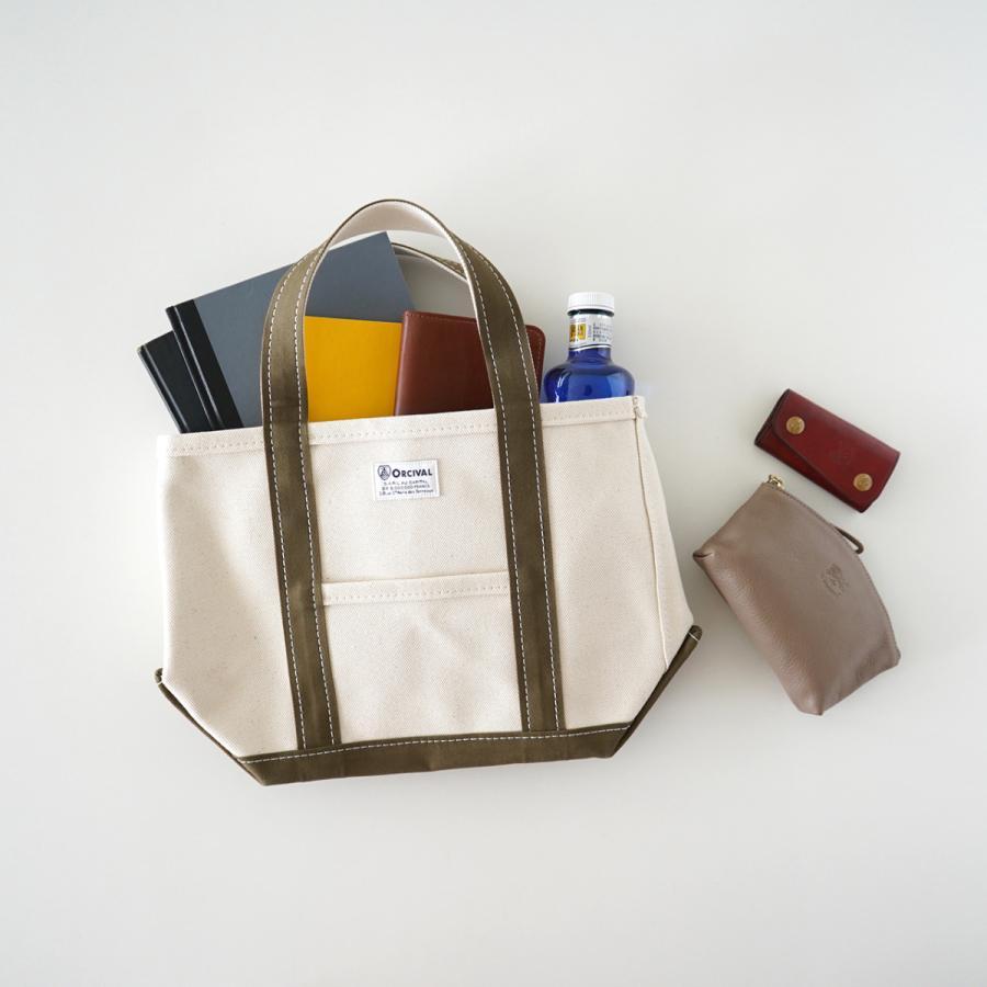 オーシバル オーチバル ORCIVAL コットンキャンバス ミニトートバッグ バイカラー ソリッド  RC-7060HVC|crouka|06