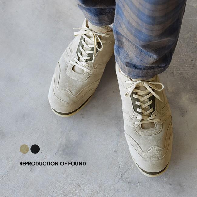 REPRODUCTION OF FOUND  ブリティッシュ ミリタリー トレーナー シューズ 靴 25.5cm-28.0cm 1800FS 送料無料|crouka