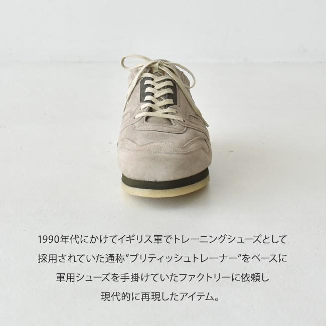 REPRODUCTION OF FOUND  ブリティッシュ ミリタリー トレーナー シューズ 靴 25.5cm-28.0cm 1800FS 送料無料|crouka|05