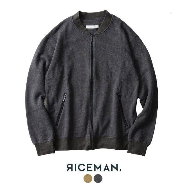 人気商品は ライスマン RICEMAN RICEMAN ZIp Up Sweater Sweater ジップアップ ジップアップ スウェット・3475-1016-1・3475-1017-1, 革蛸謹製岡山総本山:5fe4acc9 --- sonpurmela.online