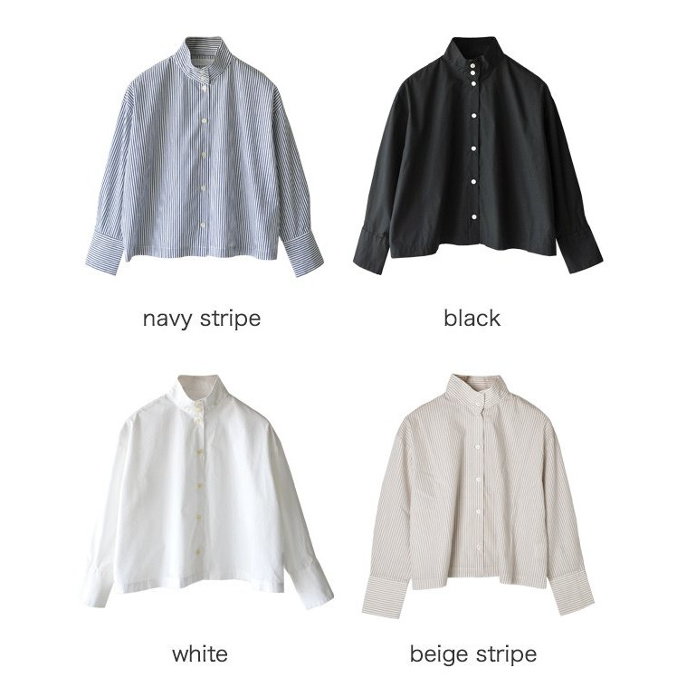 セット SETTO OKKAKE SHIRT オッカケシャツ スタンドカラー クラシック シャツ ・STL-SH006 送料無料|crouka|15