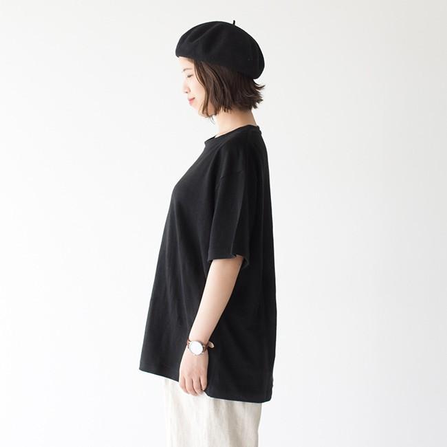 アンフィル unfil フレンチリネン コードレーン ジャージー オーバーサイズ Tシャツ ONSM-UW101 送料無料|crouka|11