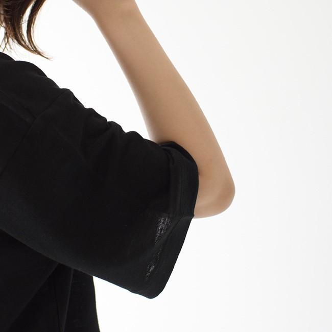 アンフィル unfil フレンチリネン コードレーン ジャージー オーバーサイズ Tシャツ ONSM-UW101 送料無料|crouka|05