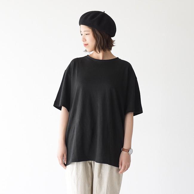 アンフィル unfil フレンチリネン コードレーン ジャージー オーバーサイズ Tシャツ ONSM-UW101 送料無料|crouka|10