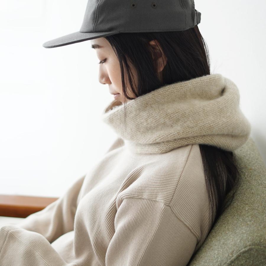 クーポン10%OFF アンフィル unfil カシミヤ ネックウォーマー cashmere neck warmer レディース メンズ 2021秋冬 WOFL-UU010 crouka 02