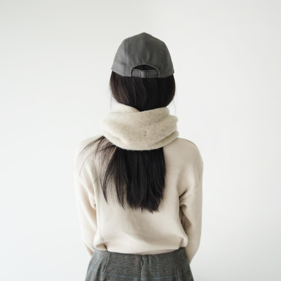 クーポン10%OFF アンフィル unfil カシミヤ ネックウォーマー cashmere neck warmer レディース メンズ 2021秋冬 WOFL-UU010 crouka 04