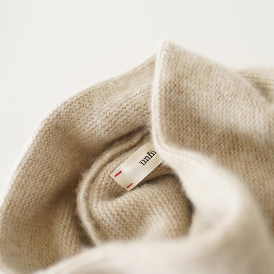 クーポン10%OFF アンフィル unfil カシミヤ ネックウォーマー cashmere neck warmer レディース メンズ 2021秋冬 WOFL-UU010 crouka 05