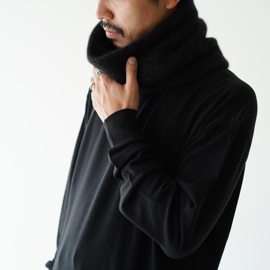 クーポン10%OFF アンフィル unfil カシミヤ ネックウォーマー cashmere neck warmer レディース メンズ 2021秋冬 WOFL-UU010 crouka 08