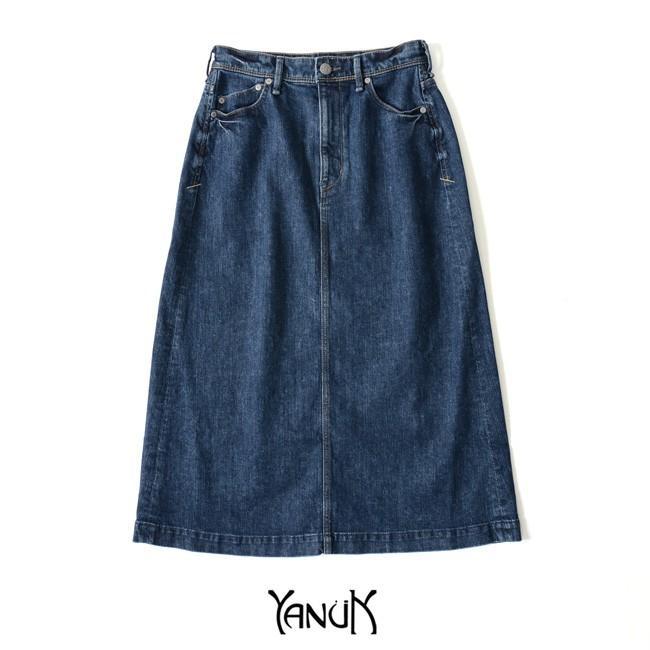 ヤヌーク YANUK A LINE SKIRT Aライン ミドル丈 スカート ・57191032 送料無料 crouka