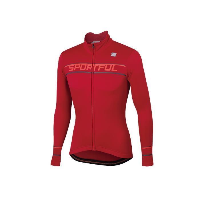 Sportful (スポーツフル) GIRO THERMAL レッド サイズM サイクリングジャージ